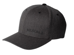 Nixon Wordmark Flexfit Hat