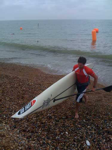 John Hibbard SUP Enduro 2nd