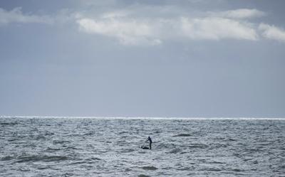 Ocean SUP and Charlie Head Lands End to London Bridge