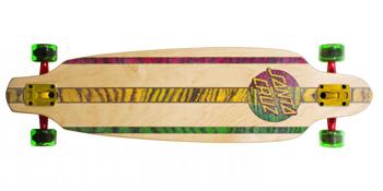 Santa Cruz Rasta Longboard skateboard